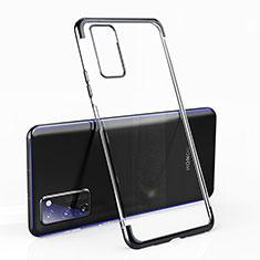 Funda Silicona Ultrafina Carcasa Transparente H02 para Huawei Honor View 30 Pro 5G Negro