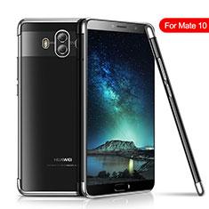 Funda Silicona Ultrafina Carcasa Transparente H02 para Huawei Mate 10 Plata