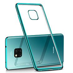 Funda Silicona Ultrafina Carcasa Transparente H02 para Huawei Mate 20 Pro Verde