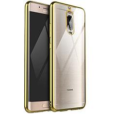 Funda Silicona Ultrafina Carcasa Transparente H02 para Huawei Mate 9 Pro Oro