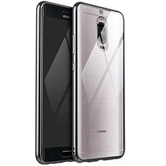Funda Silicona Ultrafina Carcasa Transparente H02 para Huawei Mate 9 Pro Plata
