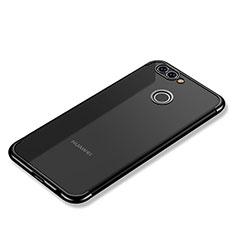 Funda Silicona Ultrafina Carcasa Transparente H02 para Huawei Nova 2 Plus Negro