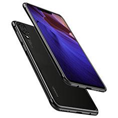 Funda Silicona Ultrafina Carcasa Transparente H02 para Huawei Nova 3 Negro