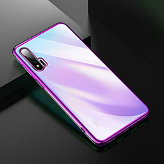 Funda Silicona Ultrafina Carcasa Transparente H02 para Huawei Nova 6 5G Morado