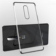 Funda Silicona Ultrafina Carcasa Transparente H02 para OnePlus 7 Pro Negro