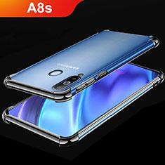 Funda Silicona Ultrafina Carcasa Transparente H02 para Samsung Galaxy A8s SM-G8870 Negro