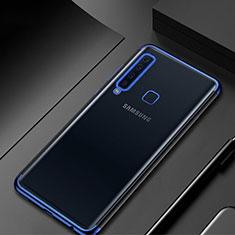 Funda Silicona Ultrafina Carcasa Transparente H02 para Samsung Galaxy A9s Azul