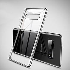 Funda Silicona Ultrafina Carcasa Transparente H02 para Samsung Galaxy S10 5G Negro