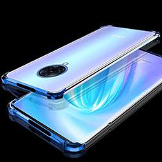 Funda Silicona Ultrafina Carcasa Transparente H02 para Vivo Nex 3 Azul