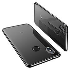 Funda Silicona Ultrafina Carcasa Transparente H02 para Xiaomi Mi 6X Negro
