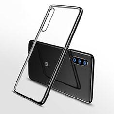 Funda Silicona Ultrafina Carcasa Transparente H02 para Xiaomi Mi 9 Lite Negro