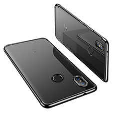 Funda Silicona Ultrafina Carcasa Transparente H02 para Xiaomi Mi A2 Negro