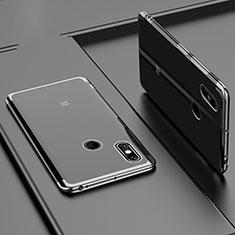 Funda Silicona Ultrafina Carcasa Transparente H02 para Xiaomi Mi Max 3 Negro