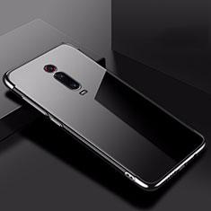 Funda Silicona Ultrafina Carcasa Transparente H02 para Xiaomi Redmi K20 Negro