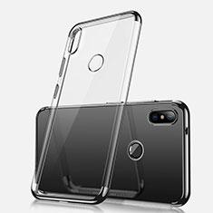 Funda Silicona Ultrafina Carcasa Transparente H02 para Xiaomi Redmi Note 5 AI Dual Camera Negro