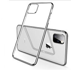 Funda Silicona Ultrafina Carcasa Transparente H03 para Apple iPhone 11 Pro Plata