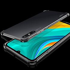 Funda Silicona Ultrafina Carcasa Transparente H03 para Huawei Enjoy 10e Negro