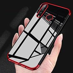 Funda Silicona Ultrafina Carcasa Transparente H03 para Huawei Honor 20 Lite Rojo