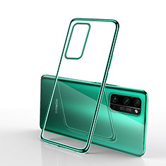 Funda Silicona Ultrafina Carcasa Transparente H03 para Huawei Honor 30 Pro+ Plus Verde