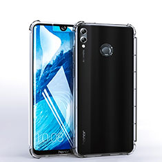 Funda Silicona Ultrafina Carcasa Transparente H03 para Huawei Honor 8X Max Claro