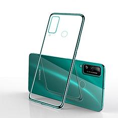 Funda Silicona Ultrafina Carcasa Transparente H03 para Huawei Honor Play4T Verde