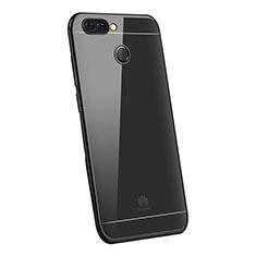 Funda Silicona Ultrafina Carcasa Transparente H03 para Huawei P Smart Negro