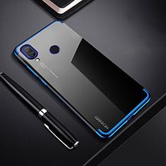 Funda Silicona Ultrafina Carcasa Transparente H03 para Huawei P Smart+ Plus Azul