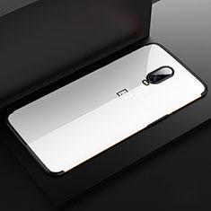 Funda Silicona Ultrafina Carcasa Transparente H03 para OnePlus 6T Negro