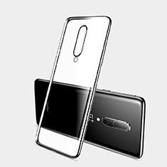 Funda Silicona Ultrafina Carcasa Transparente H03 para OnePlus 7 Pro Negro