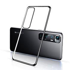 Funda Silicona Ultrafina Carcasa Transparente H03 para Xiaomi Mi 10 Ultra Negro