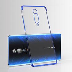 Funda Silicona Ultrafina Carcasa Transparente H03 para Xiaomi Mi 9T Azul