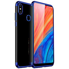 Funda Silicona Ultrafina Carcasa Transparente H03 para Xiaomi Mi Mix 2S Azul