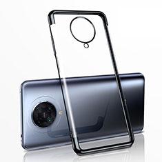 Funda Silicona Ultrafina Carcasa Transparente H03 para Xiaomi Redmi K30 Pro 5G Negro