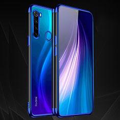 Funda Silicona Ultrafina Carcasa Transparente H03 para Xiaomi Redmi Note 8T Azul