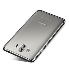 Funda Silicona Ultrafina Carcasa Transparente H04 para Huawei Mate 10 Plata