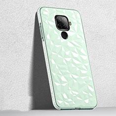 Funda Silicona Ultrafina Carcasa Transparente H04 para Huawei Mate 30 Lite Verde