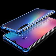 Funda Silicona Ultrafina Carcasa Transparente H04 para Xiaomi Mi 9 Pro 5G Azul