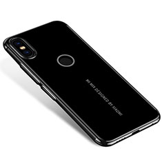 Funda Silicona Ultrafina Carcasa Transparente H04 para Xiaomi Mi Mix 2S Negro