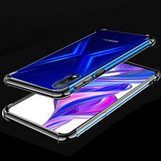 Funda Silicona Ultrafina Carcasa Transparente H05 para Huawei Honor 9X Negro