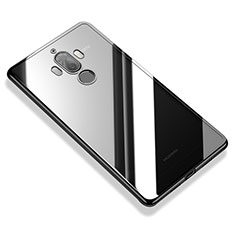 Funda Silicona Ultrafina Carcasa Transparente H05 para Huawei Mate 9 Negro