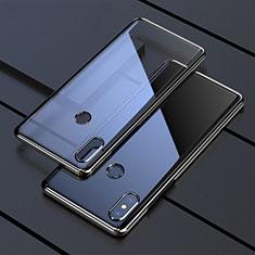 Funda Silicona Ultrafina Carcasa Transparente H05 para Xiaomi Mi Mix 3 Negro
