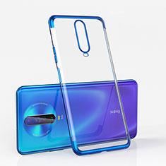 Funda Silicona Ultrafina Carcasa Transparente H05 para Xiaomi Poco X2 Azul