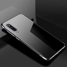 Funda Silicona Ultrafina Carcasa Transparente H08 para Xiaomi Mi A3 Lite Negro