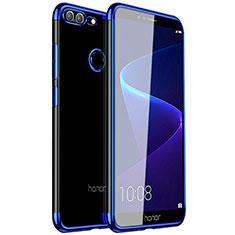 Funda Silicona Ultrafina Carcasa Transparente H16 para Huawei Honor 9 Lite Azul