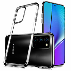 Funda Silicona Ultrafina Carcasa Transparente N02 para Samsung Galaxy Note 20 5G Negro