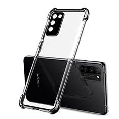 Funda Silicona Ultrafina Carcasa Transparente S01 para Huawei Honor 30 Lite 5G Negro