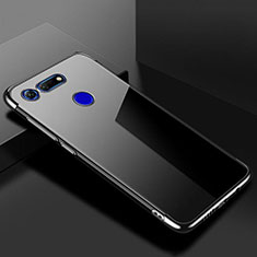 Funda Silicona Ultrafina Carcasa Transparente S01 para Huawei Honor V20 Negro