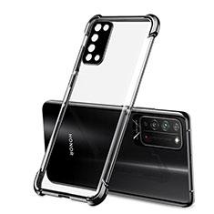 Funda Silicona Ultrafina Carcasa Transparente S01 para Huawei Honor X10 5G Negro