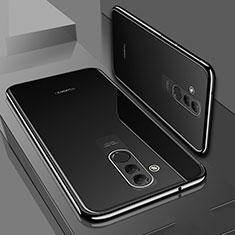 Funda Silicona Ultrafina Carcasa Transparente S01 para Huawei Mate 20 Lite Negro