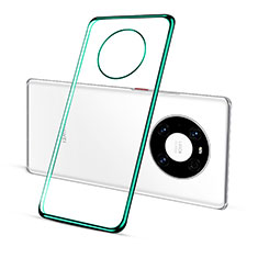 Funda Silicona Ultrafina Carcasa Transparente S01 para Huawei Mate 40 Pro Verde